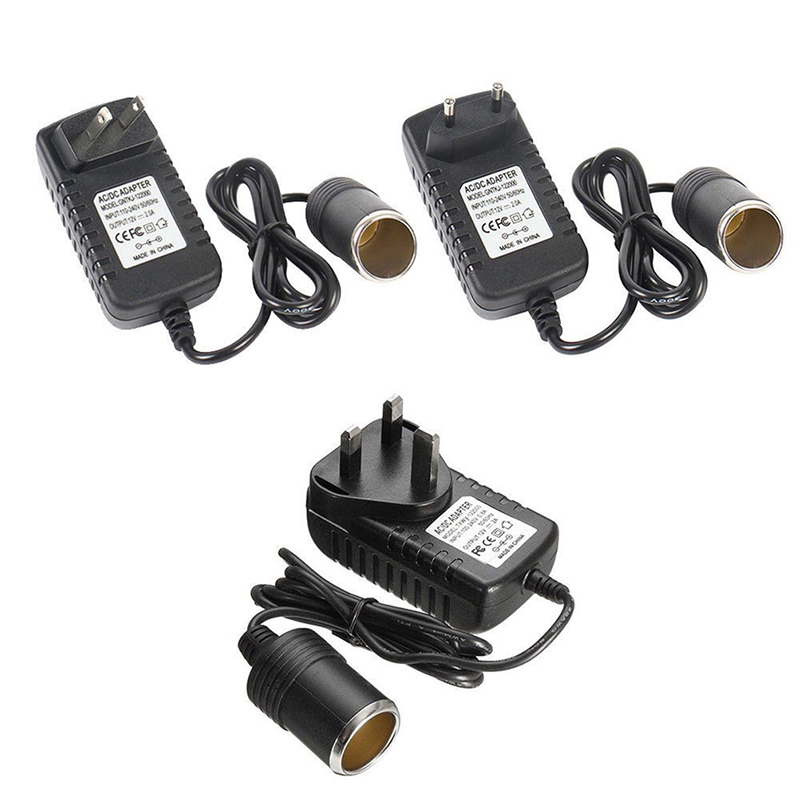 220V to 12V  Adapter Converter Parts Portable Car Cigarette Lighter Socket(China)