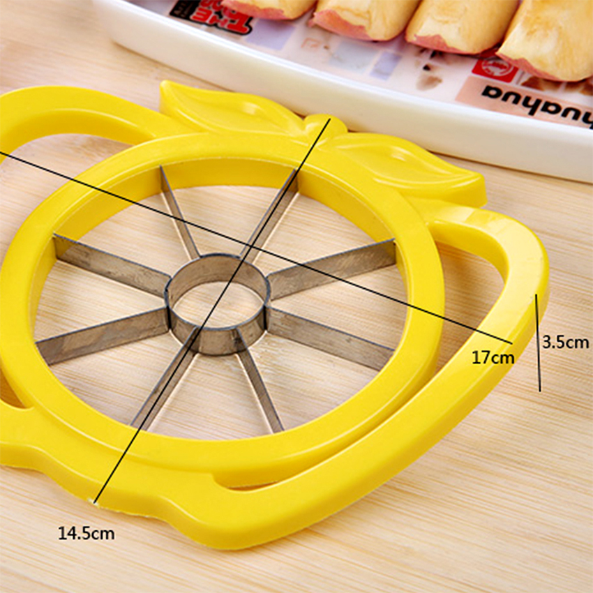 Fruit Slicer Le Pear Cutter Stainless Steel Knife Corers Remover Vegetable Melon Chopper Rler Divided Kitchen Cooking Tool In From Home