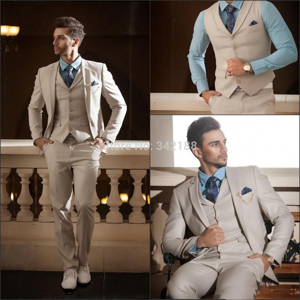 Best -4 Custom Made High Quality 4 Pieces Men's Suits Western Wedding Tuxedos/custom Suit/best Man Suitswedding Men Clothes
