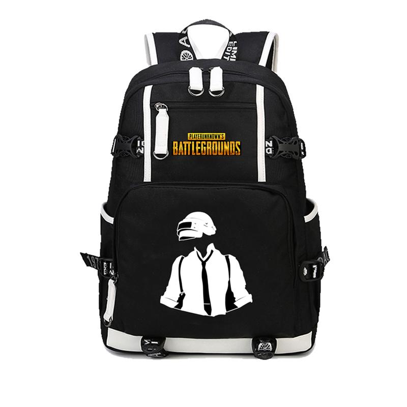 Game Player unknown's battlegrounds backpacks school bags PUBG backpack for boyfriend game fans Fashion Shoulder Bag Rucksack