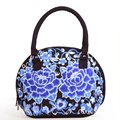 2016 High Quality Canvas Bags Women Fashion National Style Embroidery Shell Bag With Flowers Bolsos Mujer De Flores sac luxe
