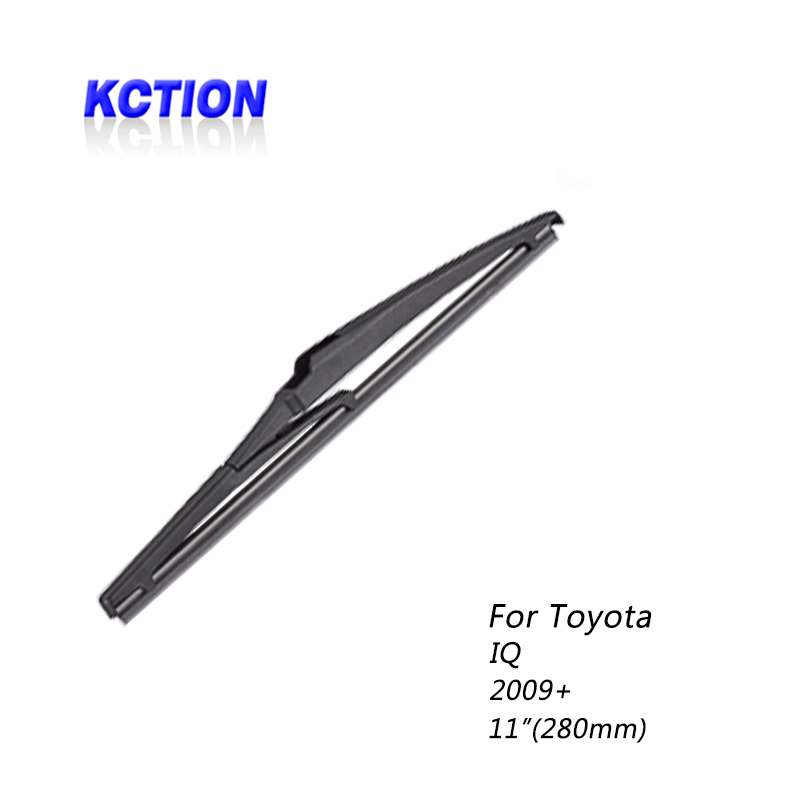 Car Windshield real Wiper Blade For Toyota IQ, (2009+),Rear wiper,Natural rubber, Car Accessories(China)