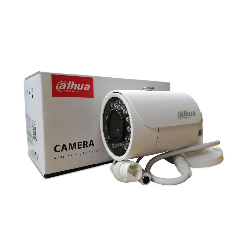Original DAHUA IP Camera IPC-HFW1320S Bullet IR 30M 3MP IP67 outdoor full HD POE CCTV Security Camera Support Updated original english firmware dahua full hd 4mp poe ip camera dh ipc hfw4421s bullet outdoor camera