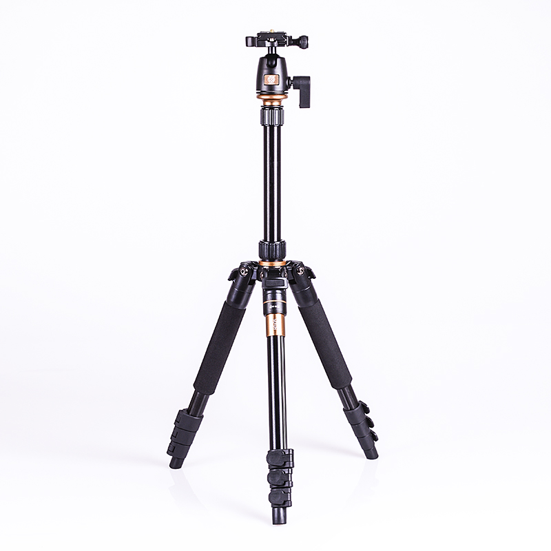 Prix pour Portable 5 KG ours aluminium manfrotto stand professionnel caméra trépieds pour reflex vidéo clip tripodes par reflex dslr trépied