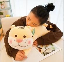 WYZHY New creative cute soft cute cute tiger doll plush toy plush toy sofa bedroom decoration send friends children gifts  80CM huge black plush orangutans toy big fat creative orangutans doll about 80cm
