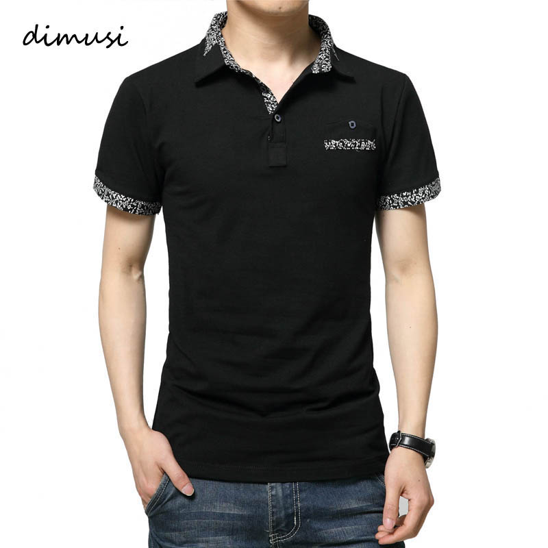 DIMUSI Summer   POLO   Shirt Men Casual Cotton   Polo   Shirt Men Short Sleeve Turn-down Collar Letters Embroidered   Polos   tees 5XL,YA587
