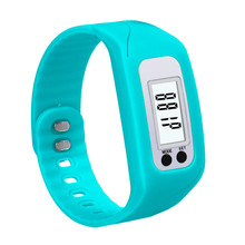 Best Selling Brand New Digital LCD Pedometer Run Step Walking Distance Calorie Counter Watch Bracelet Free Shipping July29