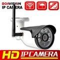 720 P 1080 P WIFI Cámara IP Inalámbrica Al Aire Libre IR 20 M cámara de Vigilancia Móvil a prueba de agua Visión HD de 1.0MP P2P 2MP CCTV Cámara de la Bala IP