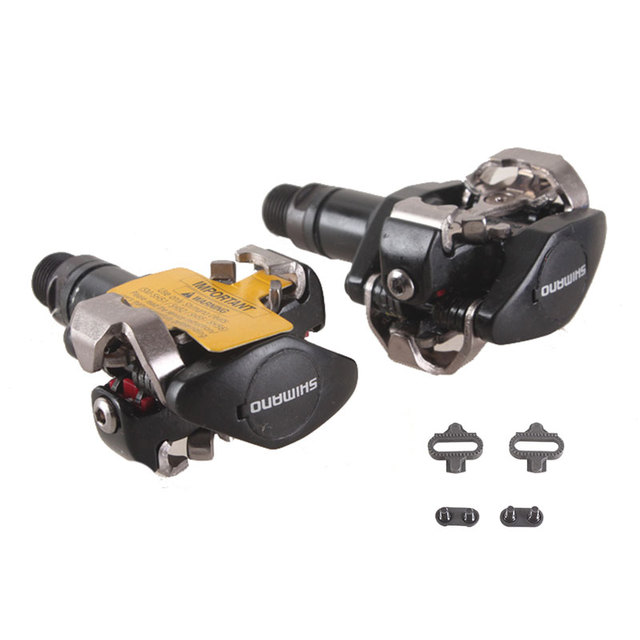 7b50a879691 SHIMANO PD M505 Self-Locking Clipless SPD Pedals MTB Bicycle Racing Pedal  Mountain Bike Parts