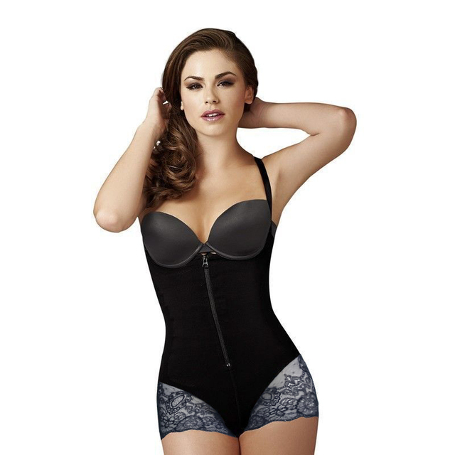 a4c6ac7f64 Women Body Shaper Hot Sexy Underbust Control Bodysuit Shapewear Thigh  Slimming Firm Fat Corrective Seamless Slimming Underwear