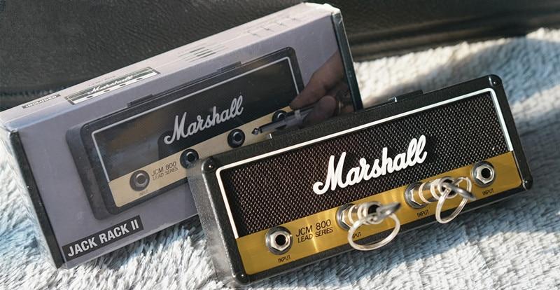 Jcm800 Standard Jack Rack V2 0 Wall Mounted Guitar Amp Key Holder Includes 4 Guitar Plug