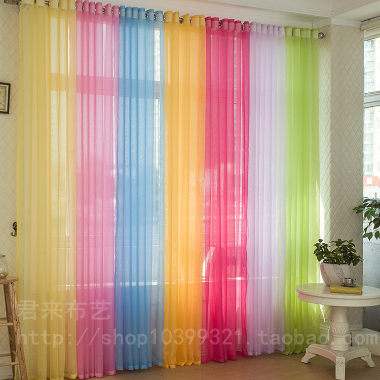 Aliexpress Com Buy Sheer Curtains For Living Room