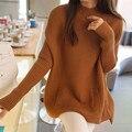 2280 новый зимний свитер карманный размер Корейский свободные платья 58