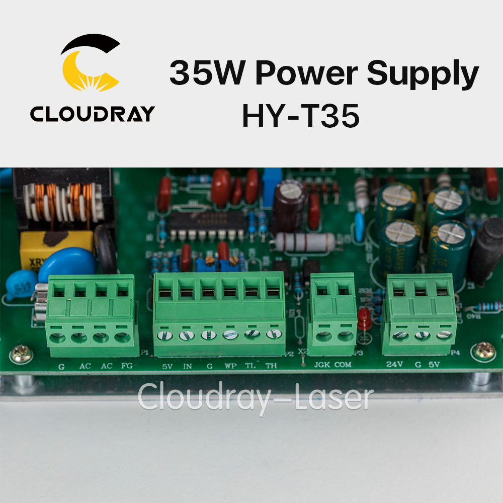 Buy Cloudray 30 40w Co2 Laser Power Supply For T35 Wiring Diagram Engraving Cutting Machine Hy From Reliable Suppliers On