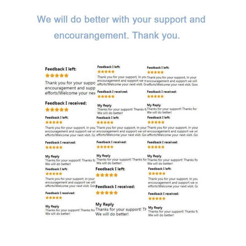 customer evaluation-