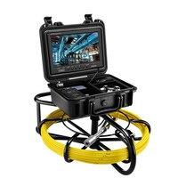 """9600A 9 """"50 M DVR 8 GB rurociągu endoskop kamera inspekcyjna pod wodą przemysłowe rura kanalizacji drenażu ściany kamera wideo system w Kamery nadzoru od Bezpieczeństwo i ochrona na"""