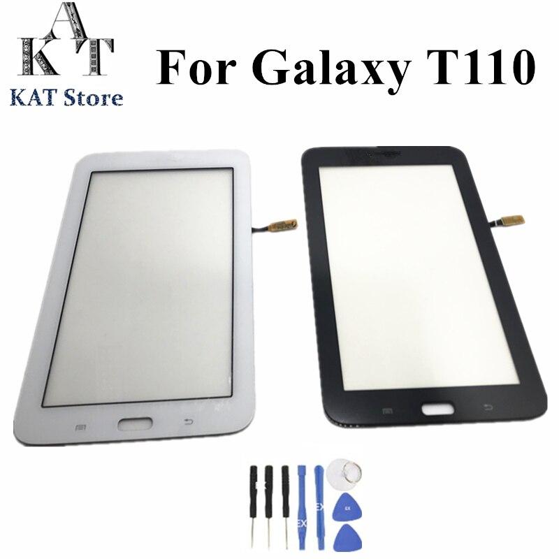 Для Samsung Galaxy Tab 3 Lite 7,0 SM-T110 T111 T113 T114 T113NU T116 сенсорный экран дигитайзер сменная внешняя панель + Инструменты