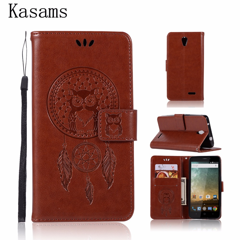 Leather Case For ZTE Prestige N9132 9132 Flip Cover Fashion Magnetic Wallet Stand Pattern Owl Phone Shell Bag Funda Coque N9132