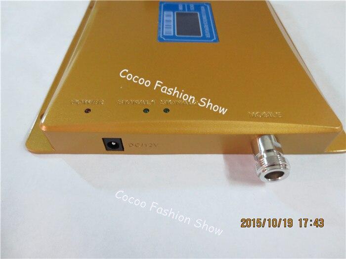 Affichage LCD GSM 900mhz DCS 1800mhz double bande Booster 4G répéteur de Signal de téléphone portable amplificateur de signal cellulaire + antennes - 3