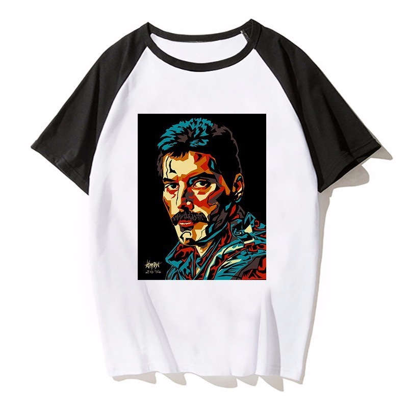 Men's Clothing T-shirts The Hottest T-shirt In The World The Queen Band Freddie Mercury Summer Comic Men T Shirt Short Sleeve O Neck