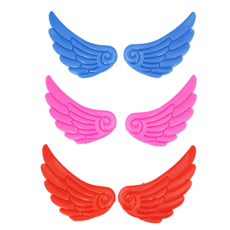 1 Pair NEW  Roller Skate Shoes Wings Ornament Decoration Skating Accessories Little Wings Lovely Cute For Kids Adult mattress