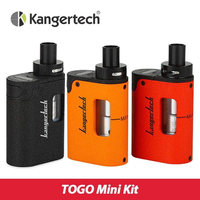 Original Kanger TOGO Mini Kit 1600mah All Ine One Starter Kit with CLOCC Coil Head 3