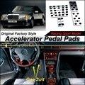 Ускоритель автомобилей Педаль Pad/Крышка Фабрики Дизайн/дрель Тип Установки Для Mercedes Benz E Class MB W124 1984 ~ 1997 В