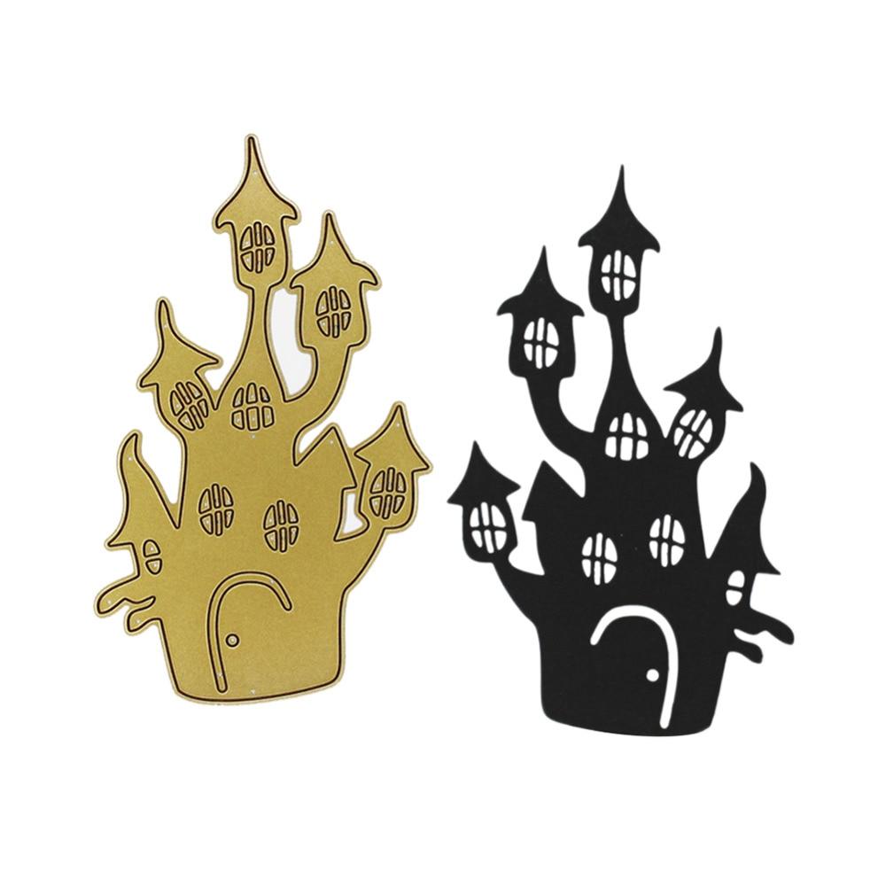metal halloween decorations online get cheap art house architecture aliexpress com alibaba