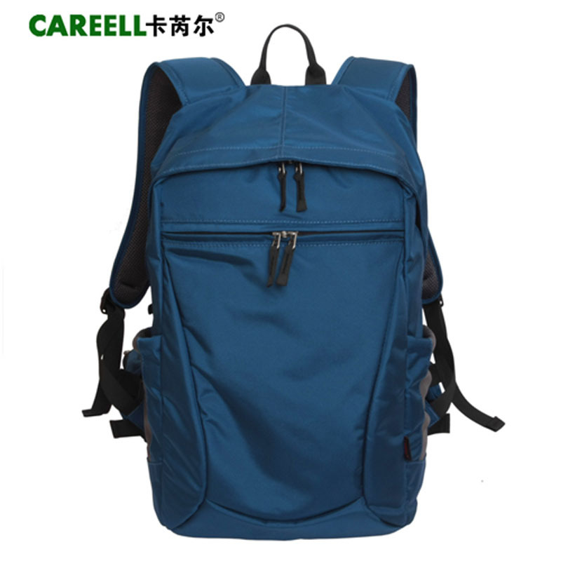 Careell Waterproof Laptop SLR Camera Backpack Photo Travel Bag Video Digital Tripod Bag Lens Pouch for Sony Canon Nikon D90 Slr national geographic leather travel camera bag soft photography bag shoulder messenger bag for canon nikon digital slr laptop