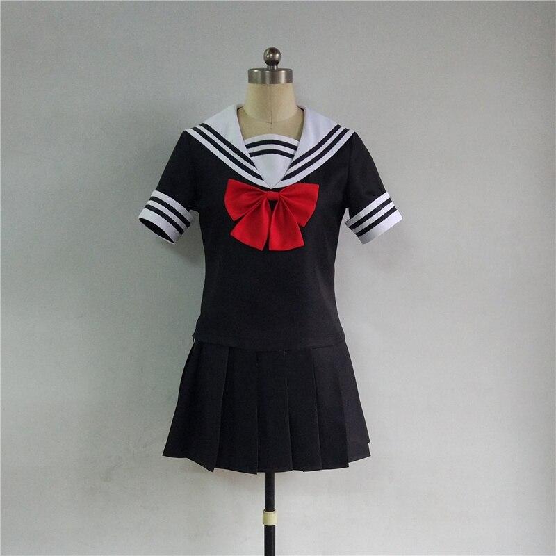 2018 New Japanese Anime Magical Girl Site Asagiri Aya / Nijimi Anazawa Cosplay Costume JK School Uniform Sailor Suits for Girls