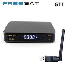 Freesat GTT Android TV Box Amlogic S905D Quad Core DVB-T2/Cable TV Receiver HD 4K 3D Wifi 1GB RAM 8GB ROM DVB-T Set Top Box