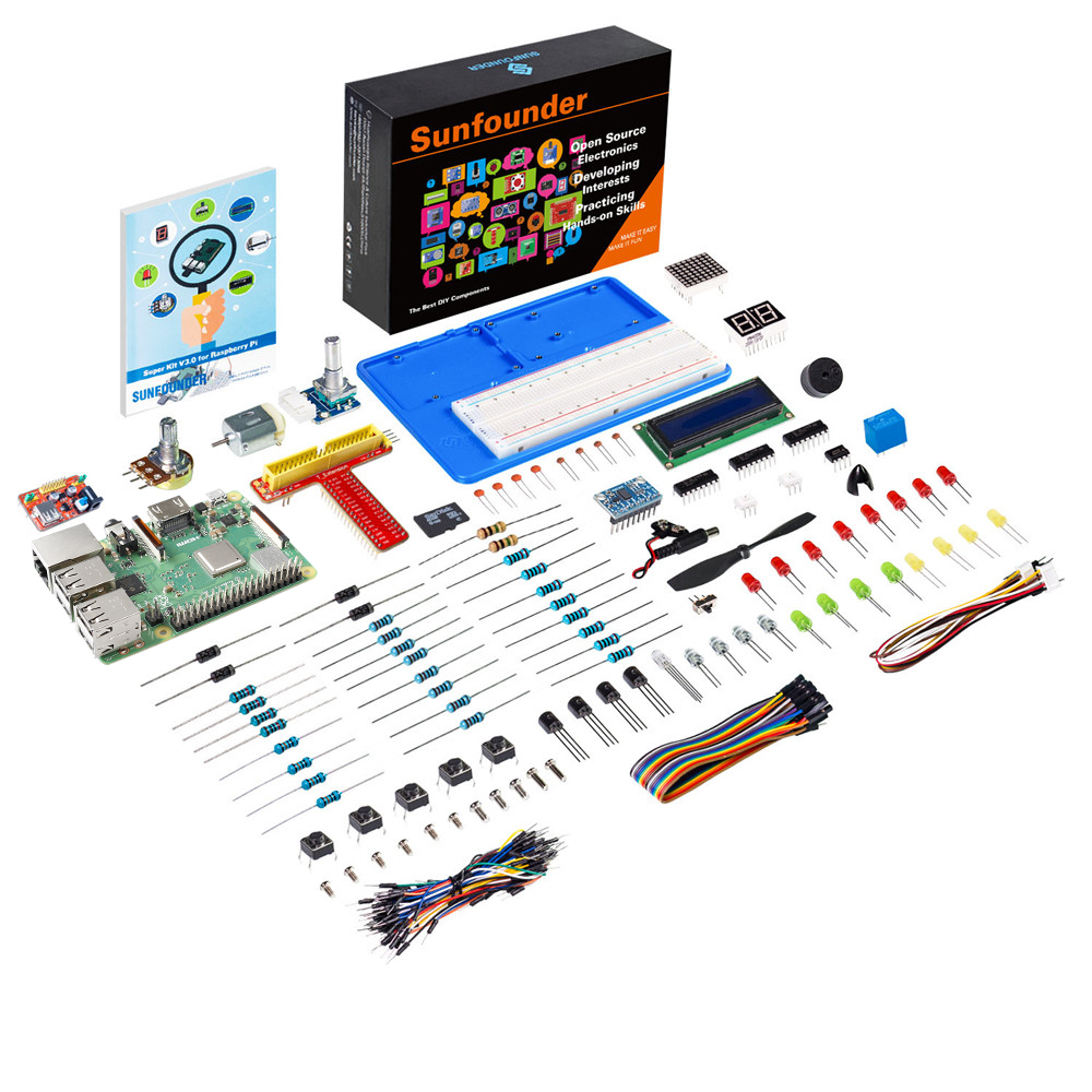 SunFounder Project Super Kit V3 0 for Raspberry Pi 3 Model B 3B 2B B A