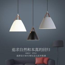 Nowe nordyckie żelazne lampy wiszące Macaron lampa do restauracji/baru/lampy oświetleniowe do domu i kawiarni