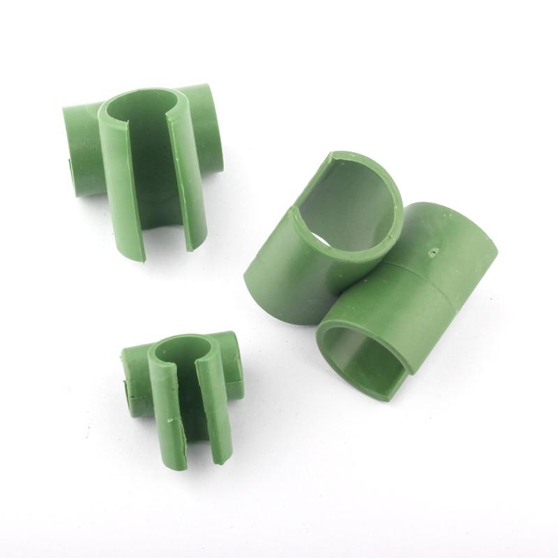 10 stks Cross Plastic Tuinieren Kolom Serre Lade Beugel Vaste Klem - Tuinbenodigdheden - Foto 3