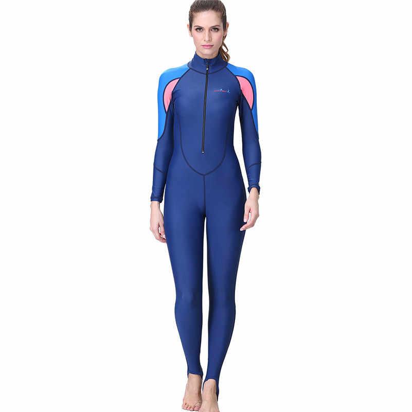 Водолазный костюм новая одежда для маленькой девочки 2 мм всего тела Для женщин купальный гидрокостюм для дайвинга из неопрена гидрокостюм Цвет для дайвинга подводного плавания Водные виды спорта 4zg