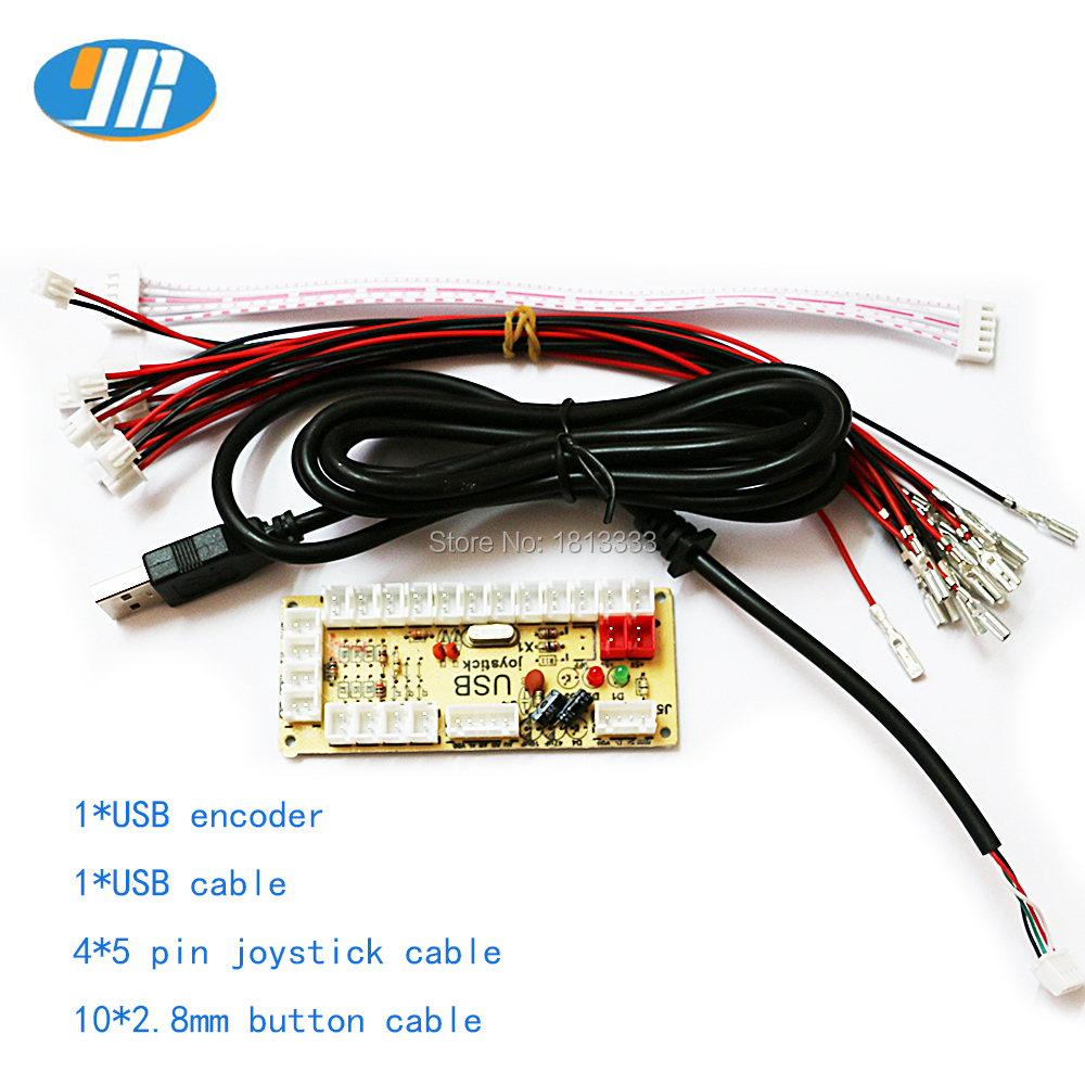 2 et Null Verzögerung USB Encoder USB Zu PC Raspberry Pi Arcade ...
