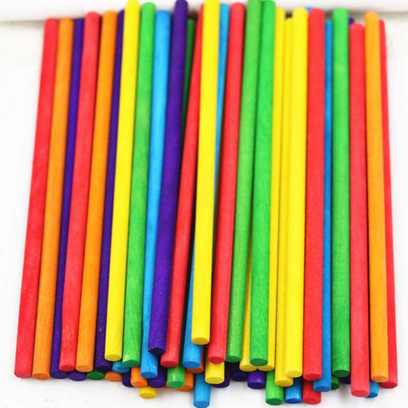 Learning Education Math Stick toys Multicolor Counting Sticks Wooden Toys  Building Blocks Math Toy Gift Games Toys for Kids
