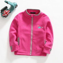 Hot sale new 2017 autumn winter brand children fleece jacket kids soft clothing&coats baby boys girls coral velvet sweatshirt