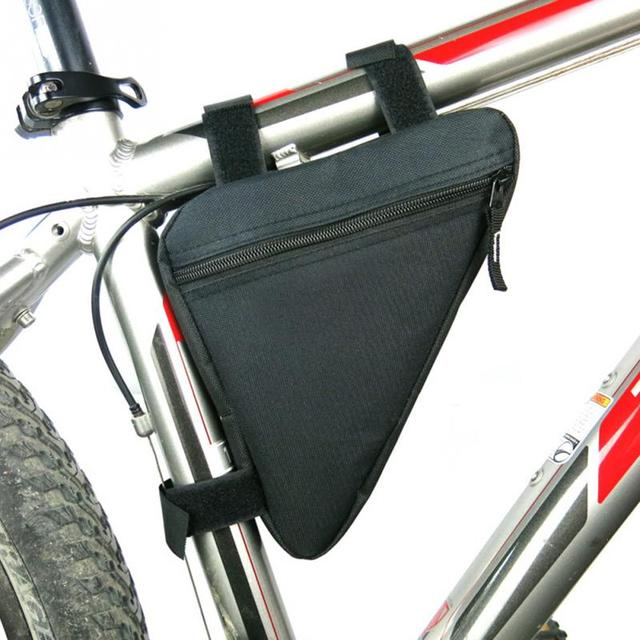 6 colors waterproof triangle cycling bicycle bags front tube frame bag mountain bike triangle pouch frame - Mountain Bike Frame Bag