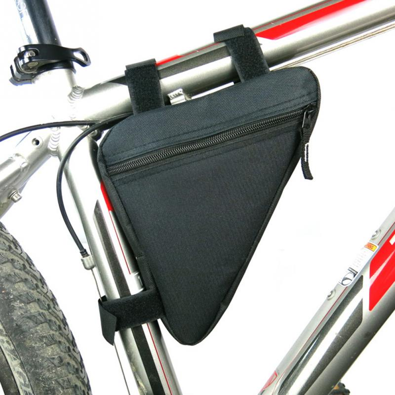 6 colors waterproof triangle cycling bicycle bags front tube frame bag mountain bike triangle pouch frame