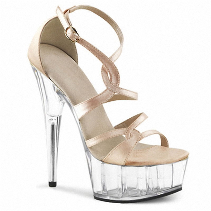 In the summer of 2018, the new fashion sexy high heels with women's shoes, with a 15-centimetre high heel sandals qiu dong season with plush slippers female students in the summer of 2017 the new han edition joker fashion wears outside a word