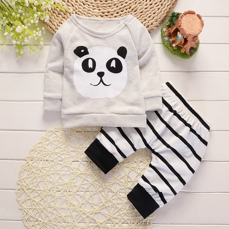 2018 Mode Babykleding Kinderen Pasgeboren Jongens Meisjes Lange - Babykleding - Foto 4