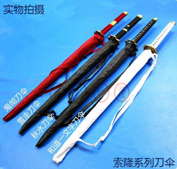 Une Pièce Roronoa Zoro katana Anime Cosplay arme accessoires accessoires parasol aucun couteaux à l'intérieur livraison gratuite