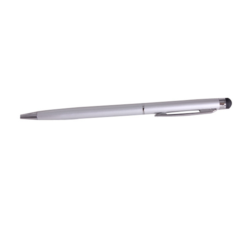 Touch Stylus Pen Pointer for iPhone 3G 3 4G iPad 2 HTC Silver Capacitive DJA99 scalable capacitive touch screen stylus pen for iphone ipad ipod touch silver
