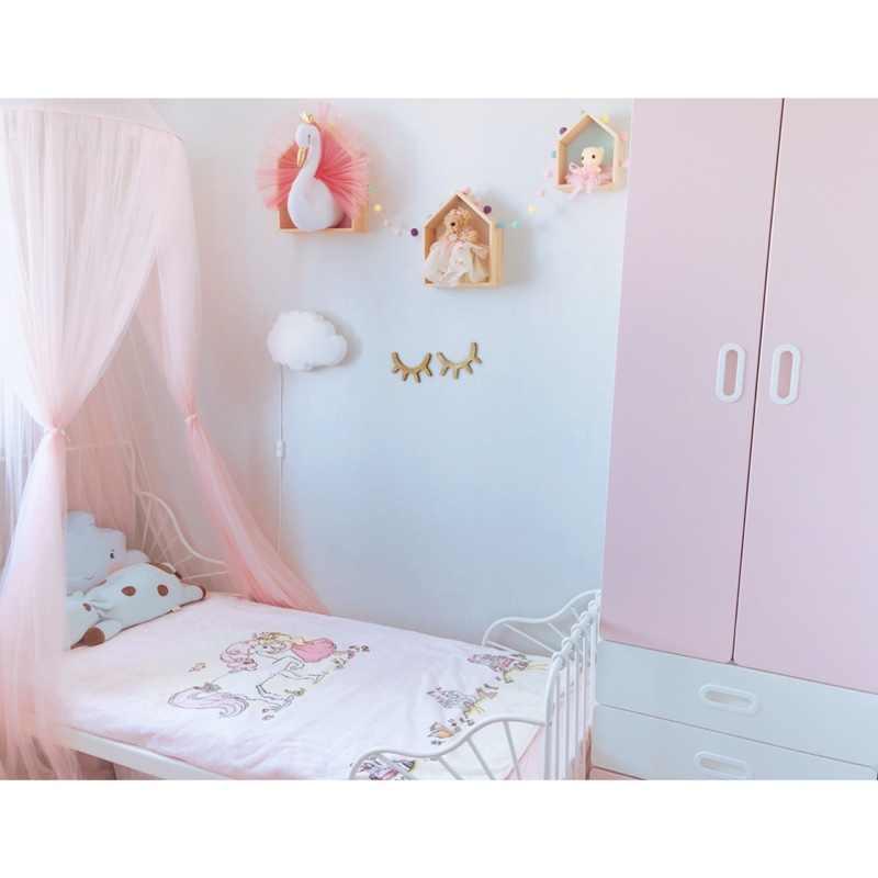 Nadziewane łabędź dekoracje ścienne wiszące zabawki 3D głowa zwierzęcia do montażu na ścianie pluszowe zabawki dla dzieci przedszkole różowy łabędź lalka dziewczyna pokój dzieci dekoracja w stylu skandynawskim