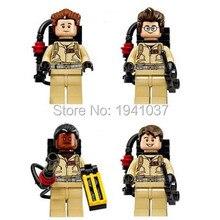 Wholesale XINH 108-111 80pcs/lot Ghostbusters Minifigures Building Blocks Bricks Toys For Children Decool Compatible