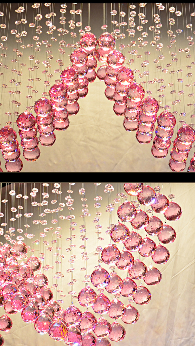 Modern purple crystal heart chandelier wedding 18w gu10 led spot modern purple crystal heart chandelier wedding 18w gu10 led spot light chandelier lamp pink heart crystal light dining room in chandeliers from lights arubaitofo Image collections