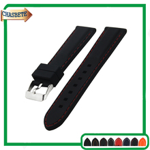 Silicone Rubber Watch Band for Timex Weekender Expedition 18