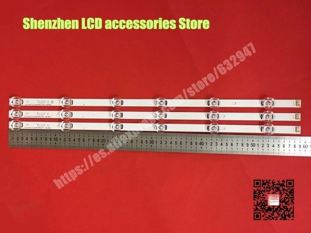 3piece/lot  FOR 32 inch use  LG LC320DUE (FG) LC320DXE (FG) HC320DXN VA   2piece  A + 1piece B  59CM  100%new