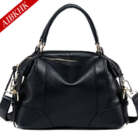 100 Genuine Leather New Fashion High Quality Women Handbags Ladies Shoulder Bags Female Girl Real Natural